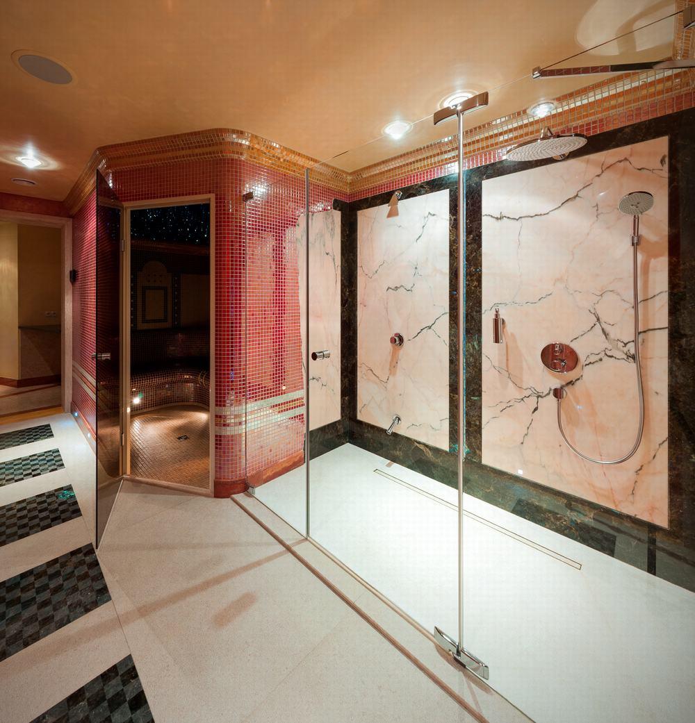 Łazienki : granit, marmur
