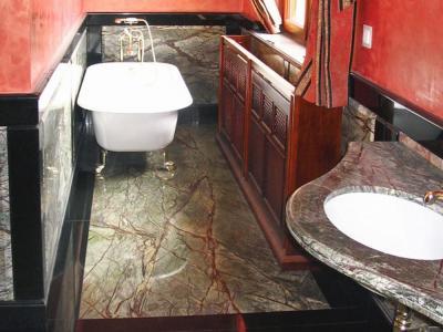 Łazienki z marmuru i granitu
