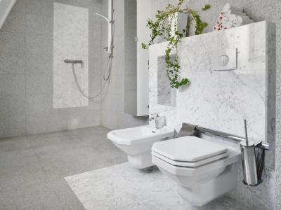 Łazienka z marmuru i granitu