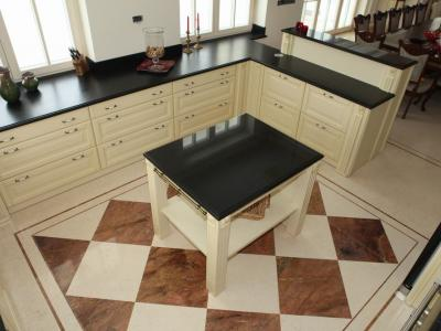 Blaty kuchenne granitowe