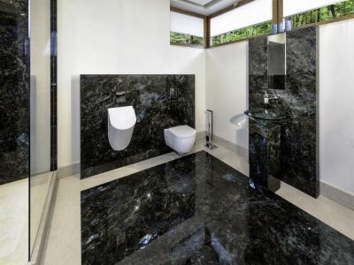 Łazienki z granitu